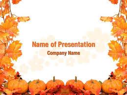 Pumpkin Field Powerpoint Templates Pumpkin Field Powerpoint