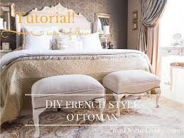French Ottoman french style ottoman how to build your own mydecordiary 6715 by xevi.us