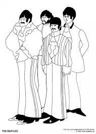 The Beatles Coloring Pages Printable Google Search Kleurplaten