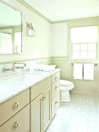 wainscoting for bathroom walls white grey wa