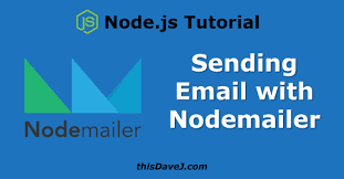 Email Nodemailer Notifications js Using Node And Thisdavej Gmail Sending