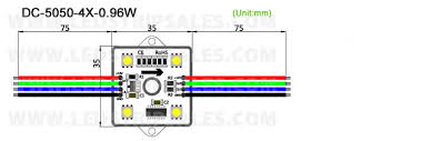 dream color led wire diagram dream database wiring diagram dream 20color 200 96w 2012v 20super 20bright 20ws2801 20ic 20smd5050 20led 20metal 20pixel 20square 20programmable 20modules