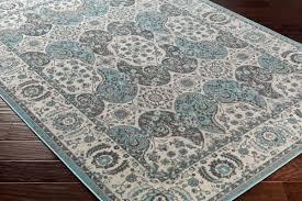 artistic weavers roosevelt roo 6216 alto turquoise gray rug