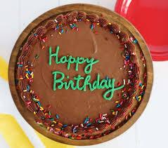 the perfect birthday cake i am baker