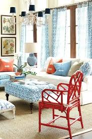 orange and blue decor red white blue decor coastal living room orange blue decorating ideas