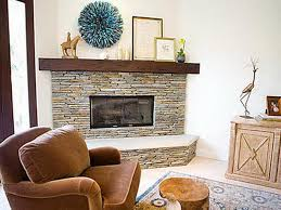 good corner stone fireplace designs