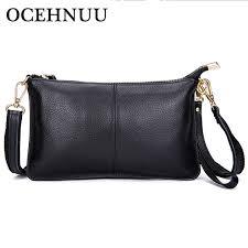 small mini envelope ocehnuu soft fashion genuine cow leather cross bags for women 2018 designer
