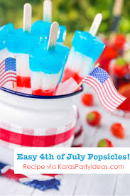 easy 4th of july layered homemade popsicles recipe found on kara s party ideas karaspartyidesa