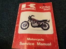 kawasaki kz750 shaft motorcycle service