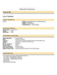 resume summary examples resume summary examples makemoney alex tk