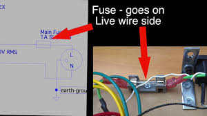 how tube amps work wiring up the fuse and primary on a hammond Transformer Primary Wiring how tube amps work wiring up the fuse and primary on a hammond 270ex power transformer transformer primary wire size calculator