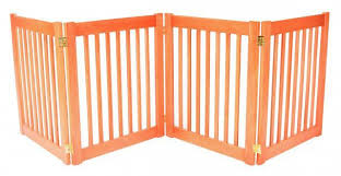 27u0027 tall x 4 panel wide wood pet gate dynamic accents gates y97
