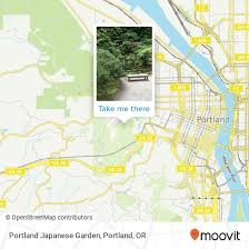 how to get to portland japanese garden
