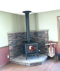 new wood stove with site built hearth and ht insulated chimney englander reviews 13 nc heat wood stove new