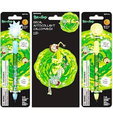 Rick And Morty Light Up Poster Amazon Com Rick And Morty Pen Set 2 Light Up Bobble Head
