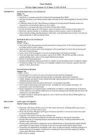 Statistician Resume Example Statistician Senior Resume Samples Velvet Jobs 13