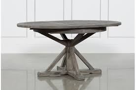 gray wood dining table. Display Product Reviews For KIT-COMBS 48 INCH EXTENSION DINING TABLE Gray Wood Dining Table N