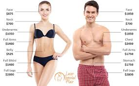 cost of laser hair removal laser