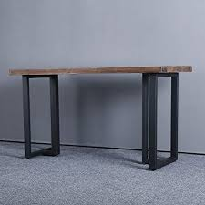 wide rustic decory t shape table legs