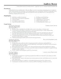 Sample Security Officer Resume Sample Security Officer Resume Security Officer Resume Sample