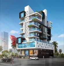 apartment building design. 3d Architectural Design Apartment Elevation Rendering Company Building N