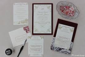 gold red velvet and lace wedding invitation zenadia design Red Velvet Wedding Invitations Red Velvet Wedding Invitations #22 Wedding Invitation Templates