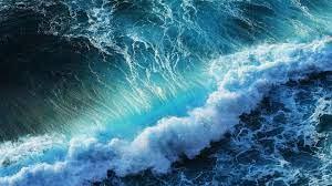 Splashing Ocean Waves desktop PC ...
