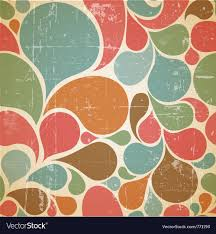 Retro Pattern Enchanting Abstract Retro Pattern Royalty Free Vector Image
