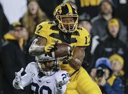 No 10 Penn State 17 No 17 Iowa 12 Without Blocking Its