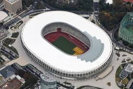 2020 Olympics Stadium Design Wooden Canopies 60 000 Capacity And Special Cooling Roof
