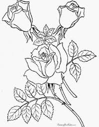 free coloring pages sheets of roses 007 jpg 399 512