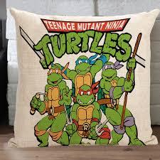 Teenage Mutant Ninja Turtles pillow cover, cute cartoon ninja turtle throw  pillow cover pillowcase Wholesale