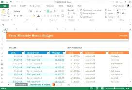 Excel Monthly Budget Planner Monthly Budget Template Monthly Budget ...