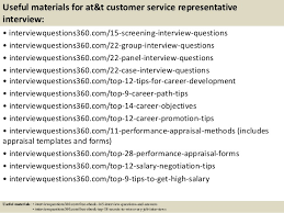 At T Customer Service Top 10 At T Customer Service Representative Interview Questions And A