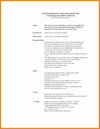 Retail Sales Associate Job Description For Resume sales associate responsibility Tolgjcmanagementco 41