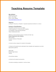 Student Teacher Resume Samples English Sample 2015 Infant Job