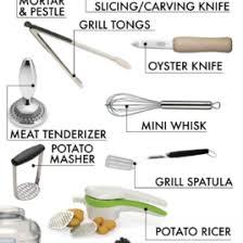 kitchen utensils list. The Essential Wedding Registry List For Your Kitchen · Of Small Equipment Utensils N