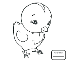 Chicken Coloring Page Fried Chicken Coloring Sheet Baby Chick