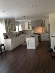 wood floor or tiles in kitchen ideas