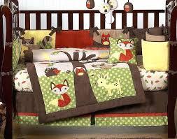 woodland creatures bedding woodland creatures forest friends woodland animals baby bedding 9 crib set