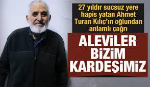 Ahmet Turan Kılıç'ın oğlundan anlamlı çağrı: Aleviler bizim kardeşimiz -  GÜNCEL Haberleri