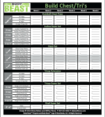 work out sheet for the gym free printable workout sheets elisabethnewton com