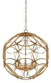 rosine orb chandelier