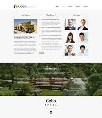 Landscape Website Designers Website Template 49636 Gobo Exterior Design Custom Website