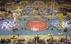 Gusto Grandstand Seating Chart Shrine Circus Tickets Seatgeek