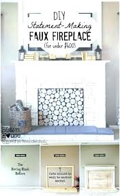 build fireplace mantel fireplace mantel faux fireplace house featured on tutorial how to build fireplace mantels
