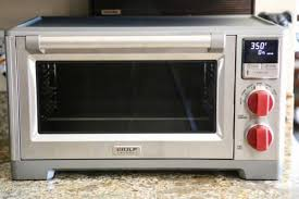 this countertop oven is a little on the larger size and is perfect for a gourmet kitchen as well as a stand alone oven in a very small kitchen small home