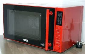 red microwave oven by kenmore 11 cu ft countertop ovens