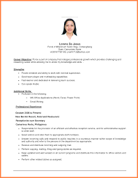 sample job objective for resume - Kleo.beachfix.co
