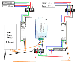 led light strip wiring diagram starfm me rgb control box wiring diagram led light strip wiring diagram